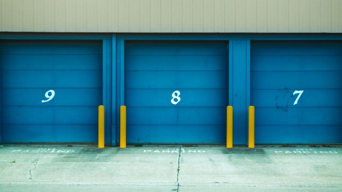 Numbered storage units